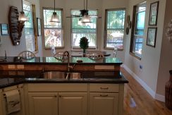 Crystal Beach House - Kitchen Area