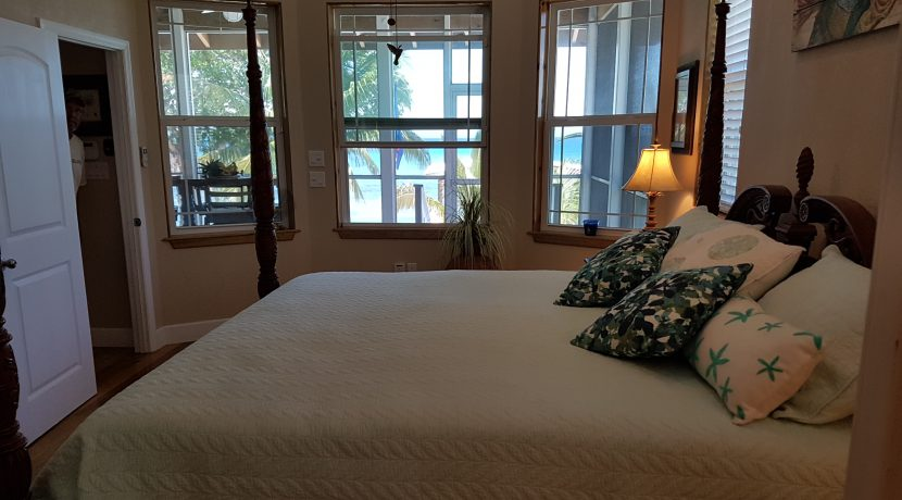 Crystal Beach House - Master Bedroom