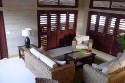 Cottage at Coral Beach Village - Living Area