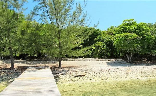 0.26 Acres at Mariners Landing Lot A1 - Viewed from Dock