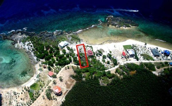 0.351 Acre Beachfront at Trade Wind - aerial view