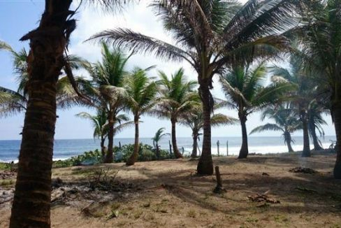 0.27 Acres at Airport Beach - View towards sea