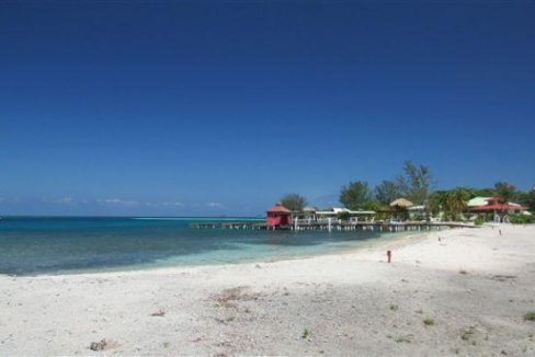 0.4 acre Beachfront at The Well - view to boat slips