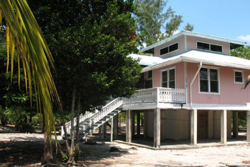 2.14 Acre Beachfront - Unfinished House