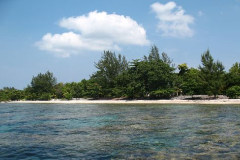 2.14 Acre Beachfront with unfinished house