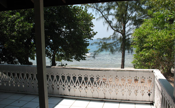 2.14 Acre Beachfront - Unfinished House - View from Porch