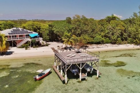 R&M Beach House at Pine Point Aerial View
