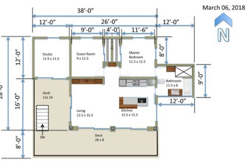 The Lookout - Floor Plan