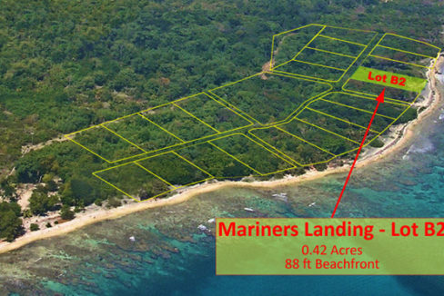Lot #B-2 at Mariners Landing -location  in subdivision