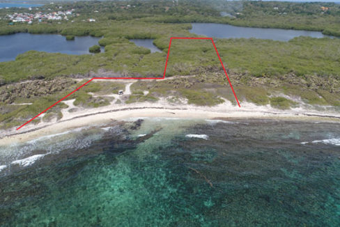 Lot #4 at Big Bight - Aerial #1 annotated