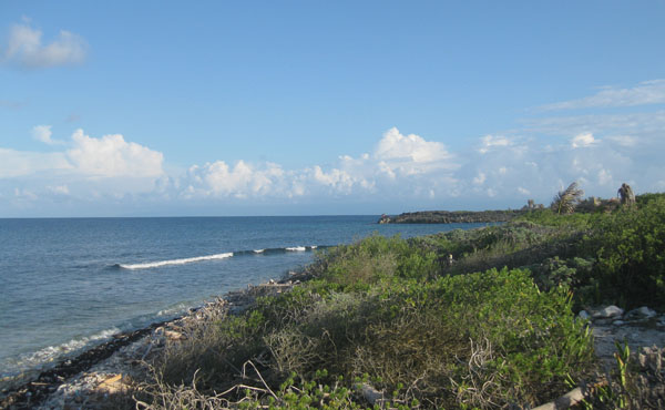Lot #4 at Big Bight - view across sea