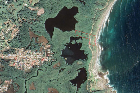 Lot #4 at Big Bight on Google Earth